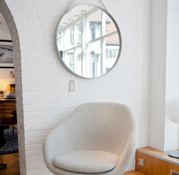 Hausen frohlich for Espejo grande blanco